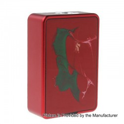 Authentic Hcigar VT Inbox 75W TC VW Varible Wattage Box Mod - Red, 1~75W, 1 x 18650, Evolv DNA75 Chip
