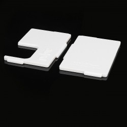 Authentic Vandy Vape Replacement Front + Back Panel for Pulse BF Squonk Box Mod - White, ABS (2 PCS)
