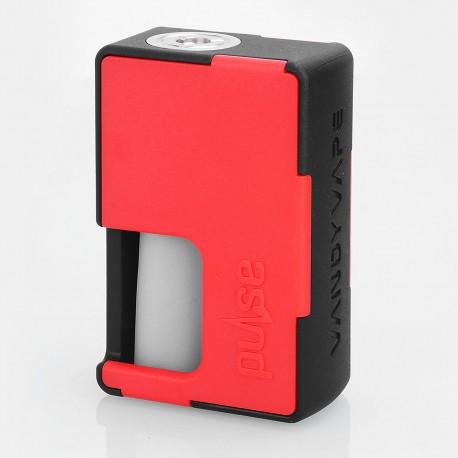 Authentic Vandy Vape Pulse BF Squonk Mechanical Box Mod - Black + Red, Nylon + ABS, 8ml, 1 x 18650 / 20700