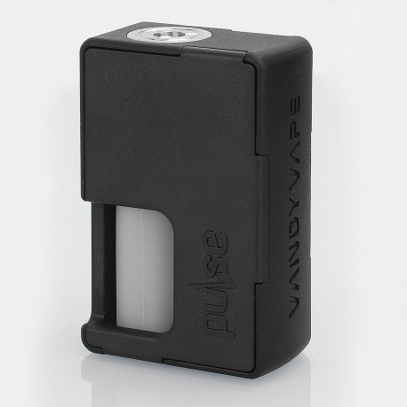 Authentic Vandy Vape Pulse BF Squonk Mechanical Box Mod - Black, Nylon + ABS, 8ml, 1 x 18650 / 20700