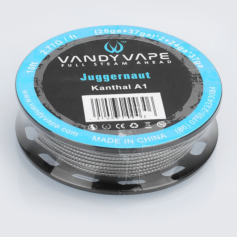 Authentic Vandy Vape Kanthal A1 Juggernaut Heating Resistance Wire