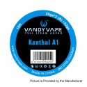 Authentic Vandy Vape Kanthal A1 Heating Resistance Wire - 28GA x 2 + 32GA, 3m (10 Feet)