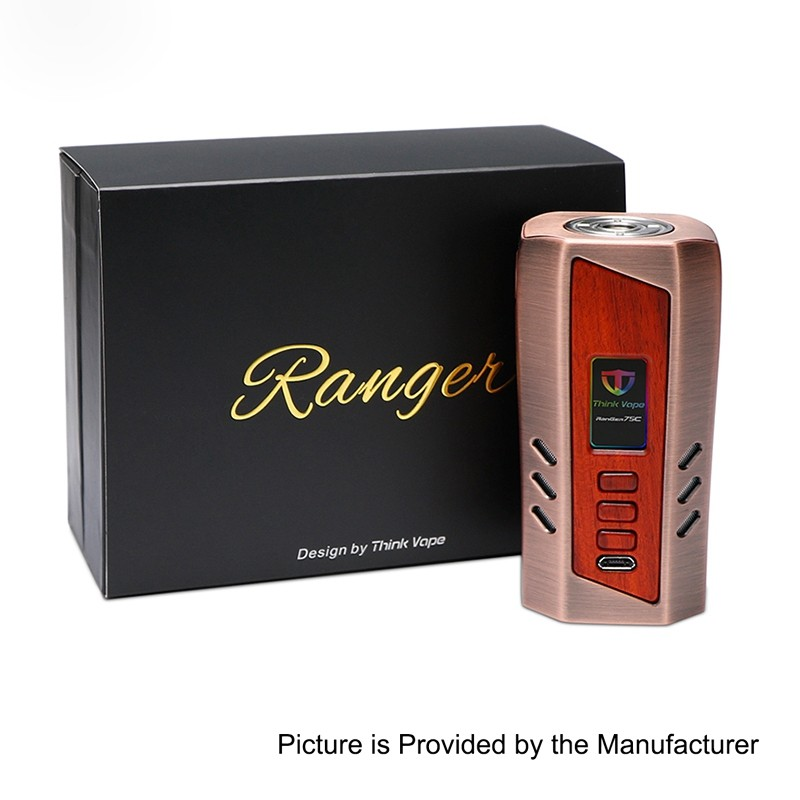 Authentic Thinkvape Ranger 75c 75w Evolv Dna75c Black Tc