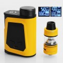 Authentic IJOY CAPO 100W TC VW Box Mod + Captain Mini Tank Kit - Yellow, 1 x 21700 / 20700 / 18650, 3.2ml, 22.5mm Diameter