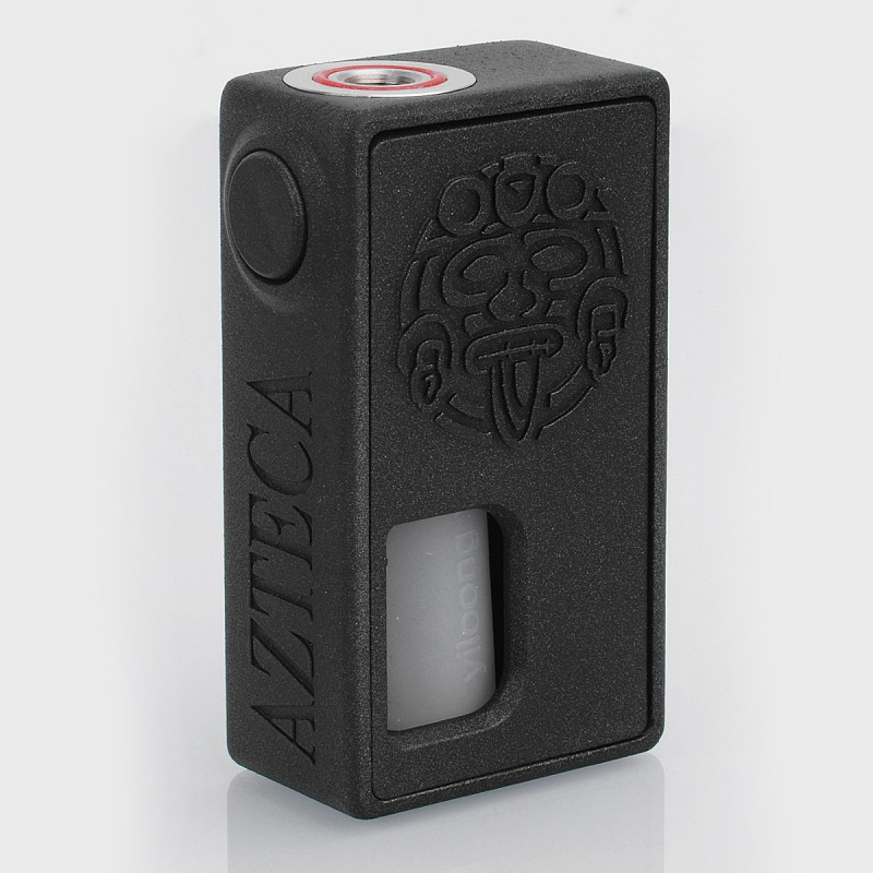 Authentic Yiloong Azteca Black Resin 8ml 18650 BF Squonk Mech Mod