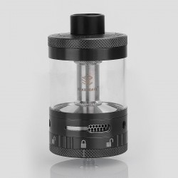 Authentic Steam Crave Aromamizer Titan RDTA Rebuildable Dripping Tank Atomizer - Gun Metal, Stainless Steel, 28ml, 41mm Diameter