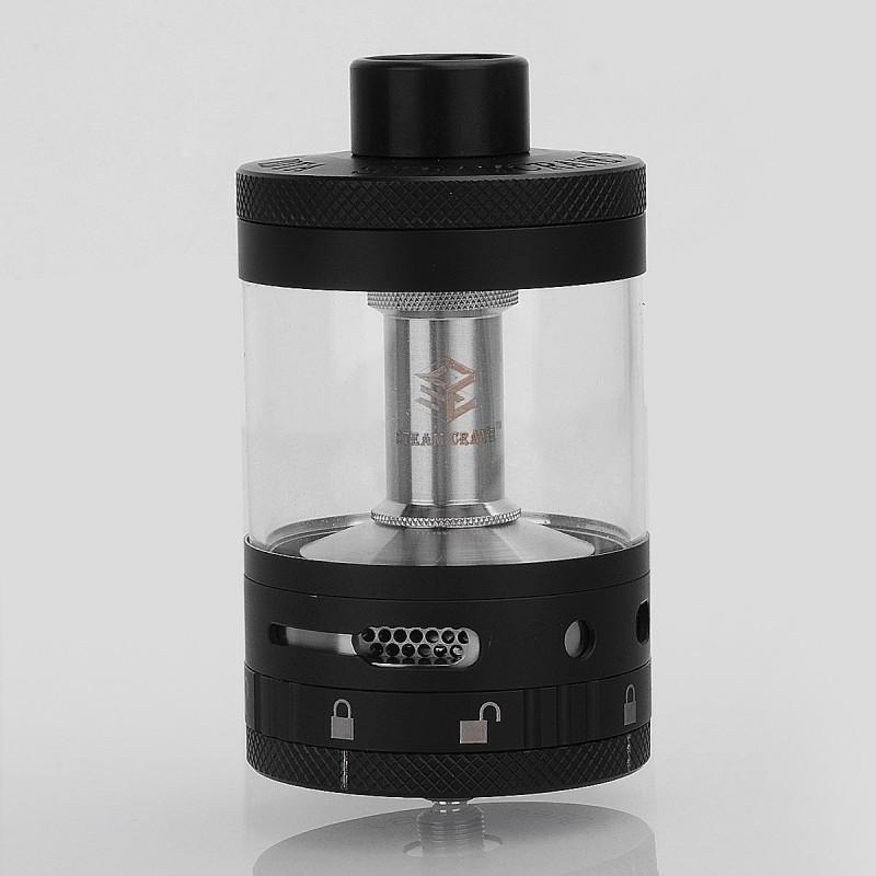 authentic steam crave aromamizer titan rdta black 28ml
