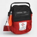 Authentic Vapethink Explorer 1 Carrying Storage Bag for E-cigarette - Black + Red, Polyester, 155 x 190 x 90mm