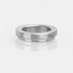 YFTK Replacement Adapter Ring for Strike 14 Style RDA - Silver, Stainless Steel, 14.8mm Inner Diameter