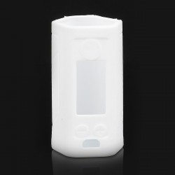 Authentic Iwodevape Protective Sleeve Case for Wismec Reuleaux RX GEN3 300W Mod - White, Silicone