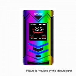 Authentic SMOKTech SMOK Veneno 225W TC VW Variable Wattage Mod - 7-Color, 1~225W, 2 x 18650