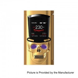 Authentic SMOKTech SMOK S-Priv 230W TC VW Variable Wattage Mod - Gold, 1~230W, 2 x 18650