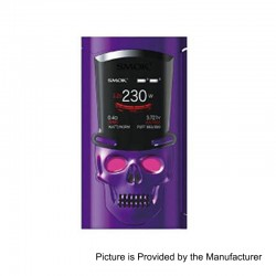 Authentic SMOKTech SMOK S-Priv 230W TC VW Variable Wattage Mod - Purple, 1~230W, 2 x 18650