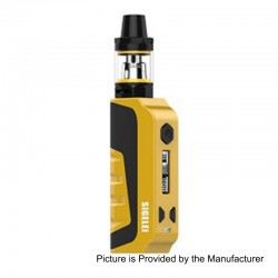 Authentic Sigelei E1 80W TC VW Variable Wattage Mod Kit - Yellow, Zinc Alloy + Plastic, 10~80W, 1 x 18650