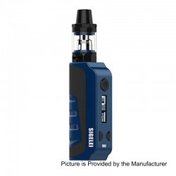 Authentic Sigelei E1 80W TC VW Variable Wattage Mod Kit - Blue, Zinc Alloy + Plastic, 10~80W, 1 x 18650