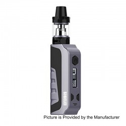 Authentic Sigelei E1 80W TC VW Variable Wattage Mod Kit - Grey, Zinc Alloy + Plastic, 10~80W, 1 x 18650
