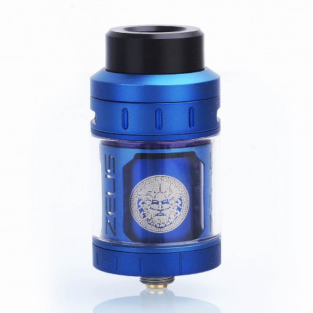 Authentic GeekVape Zeus RTA Rebuildable Tank Atomizer - Blue, Stainless Steel, 25mm Diameter, 4ml Standard Edition