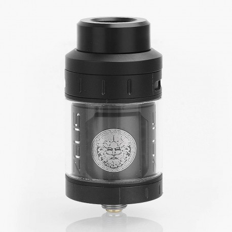 Authentic GeekVape Zeus RTA Rebuildable Tank Atomizer - Black, Stainless Steel, 25mm Diameter, 4ml Standard Edition