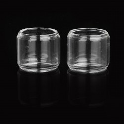 Replacement Bubble Tank for Vandy Vape Berserker MTL RTA - Transparent, Glass (2 PCS)