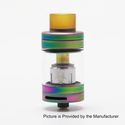 Authentic Advken Dominator Sub Ohm Tank Atomzier - Rainbow, Stainless Steel, 4.5ml, 24mm Diameter