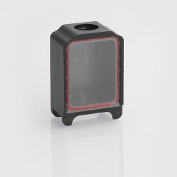 SXK Replacement Tank for BB Box Mod Kit - Black, POM + Glass, Only for Aspire Atlantis Coils