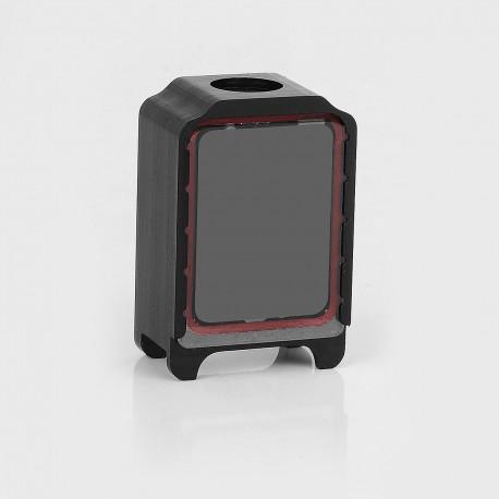 SXK Replacement Tank for BB Box Mod Kit / Bantam Box BB Mini Box Mod - Black, POM + Glass