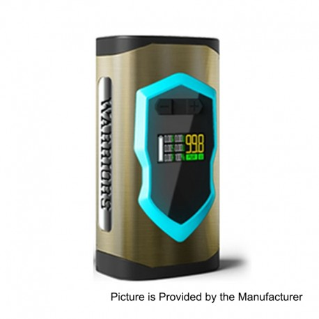 Authentic Laisimo Warriors 230W TC VW Variable Wattage Box Mod - Brass, Zinc Alloy, 10~230W, 2 x 18650 / 20700