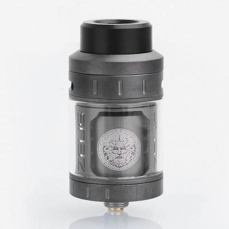 Authentic GeekVape Zeus RTA Rebuildable Tank Atomizer - Gun Metal, Stainless Steel, 25mm Diameter, 4ml EU / TPD Edition