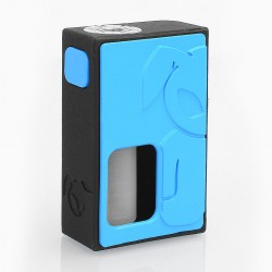 S-Rabbit Style Squonk Mechanical Box Mod - Blue, 8ml, 1 x 18650