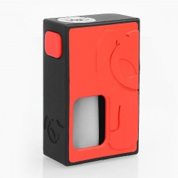 S-Rabbit Style Squonk Mechanical Box Mod - Red, 8ml, 1 x 18650