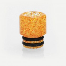 Coppervape Replacement 510 Drip Tip for RDA / RTA / Sub Ohm Tank - Gold, Resin, 13mm