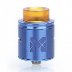 Authentic Vandy Vape MESH RDA Rebuildable Dripping Atomizer w/ BF Pin - Blue, Stainless Steel, 24mm Diameter