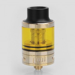 Authentic Omeka MSM Top Tank Sub Ohm Tank Atomizer - Gold, 0.2 Ohm, 24mm Diameter