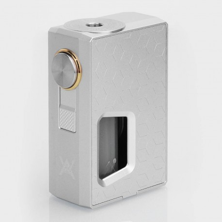 Authentic GeekVape Athena Squonk Mechanical Box Mod - Silver, Aluminum, 6.5ml, 1 x 18650