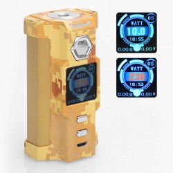 Authentic Sigelei Snowwolf Vfeng 230W VW Variable Wattage Box Mod - Desert Camouflage, 10~230W, 2 x 18650