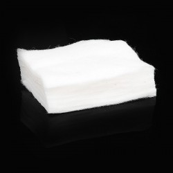 Authentic Vapjoy Koh Gen Do Pure Cotton for RDA / RTA DIY Coil Building - White (6 PCS)