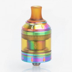 Authentic Vandy Vape Berserker MTL RTA Rebuildable Tank Atomizer - Rainbow, Stainless Steel, 4.5ml, 24mm Diameter