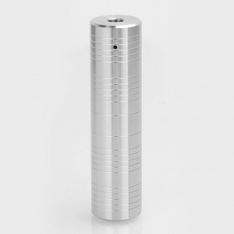 Authentic ShenRay Silver Edge Hybrid Mechanical Mod - Silver, Stainless Steel, 1 x 18650