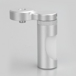Authentic Aleader BF Bottom Feeder Squonk Bottle for Mechanical Mod - Silver, Aluminum, 7ml
