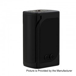 Authentic Eleaf iStick Kiya 50W 1600mAh TC VW Variable Wattage Mod - Black, Zinc Alloy, 1~50W