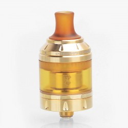 Authentic Vandy Vape Berserker MTL RTA Rebuildable Tank Atomizer - Gold, Stainless Steel, 4.5ml, 24mm Diameter