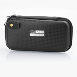 Authentic Coil Father X6 Carrying Storage Bag for E-Cigarette - Black, 185mm x 100mm x 40mm