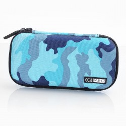 Authentic Coil Father X6S Carrying Storage Bag for E-Cigarette - Blue Camouflage, 185mm x 100mm x 40mm