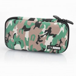 Authentic Coil Father X6S Carrying Storage Bag for E-Cigarette - Green Camouflage, 185mm x 100mm x 40mm