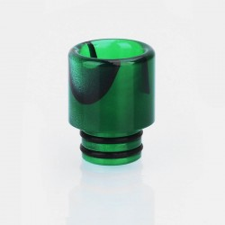 510 Replacement Drip Tip for RDA / RTA / Sub Ohm Tank - Green, Acrylic, 16mm