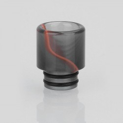 510 Replacement Drip Tip for RDA / RTA / Sub Ohm Tank - Grey, Acrylic, 16mm