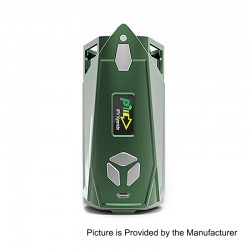 Authentic Pioneer4You IPV Xyanide 200W TC VW Variable Wattage Box Mod - Green, 5~200W, 2 x 18650