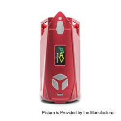 Authentic Pioneer4You IPV Xyanide 200W TC VW Variable Wattage Box Mod - Red, 5~200W, 2 x 18650