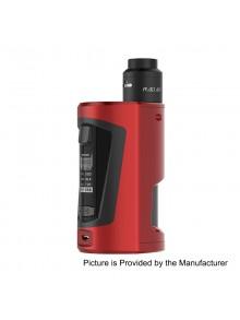 Authentic GeekVape GBOX 200W Squonk Box Mod + Radar BF RDA Kit - Wine Red, 2 x 18650, 8ml, 24mm Diameter