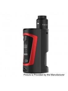 Authentic GeekVape GBOX 200W Squonk Box Mod + Radar BF RDA Kit - Black + Red, 2 x 18650, 8ml, 24mm Diameter
